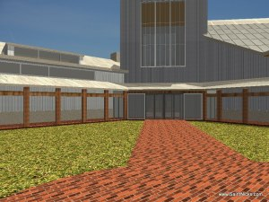 Proposed Buildings - Courtyard Entrance