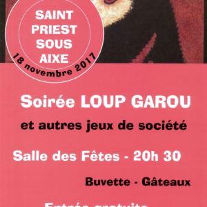 Soirée «Loup Garou» et Jeux de Société – Association J'Adhère