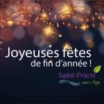Très bonnes fêtes de fin d'année à toutes et à tous !