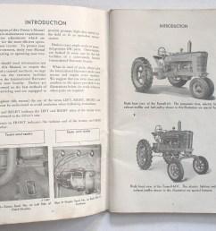international harvester farmall m mv tractor owner s manual publication  [ 1717 x 1416 Pixel ]