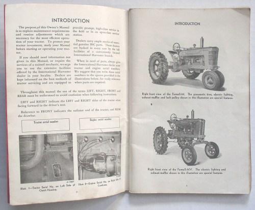 small resolution of international harvester farmall m mv tractor owner s manual publication