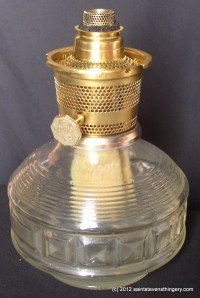Aladdin Genie Oil Lamp Model 23 Brass Burner  Thingery ...