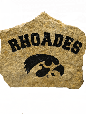 Personalized Iowa Hawkeyes Stone