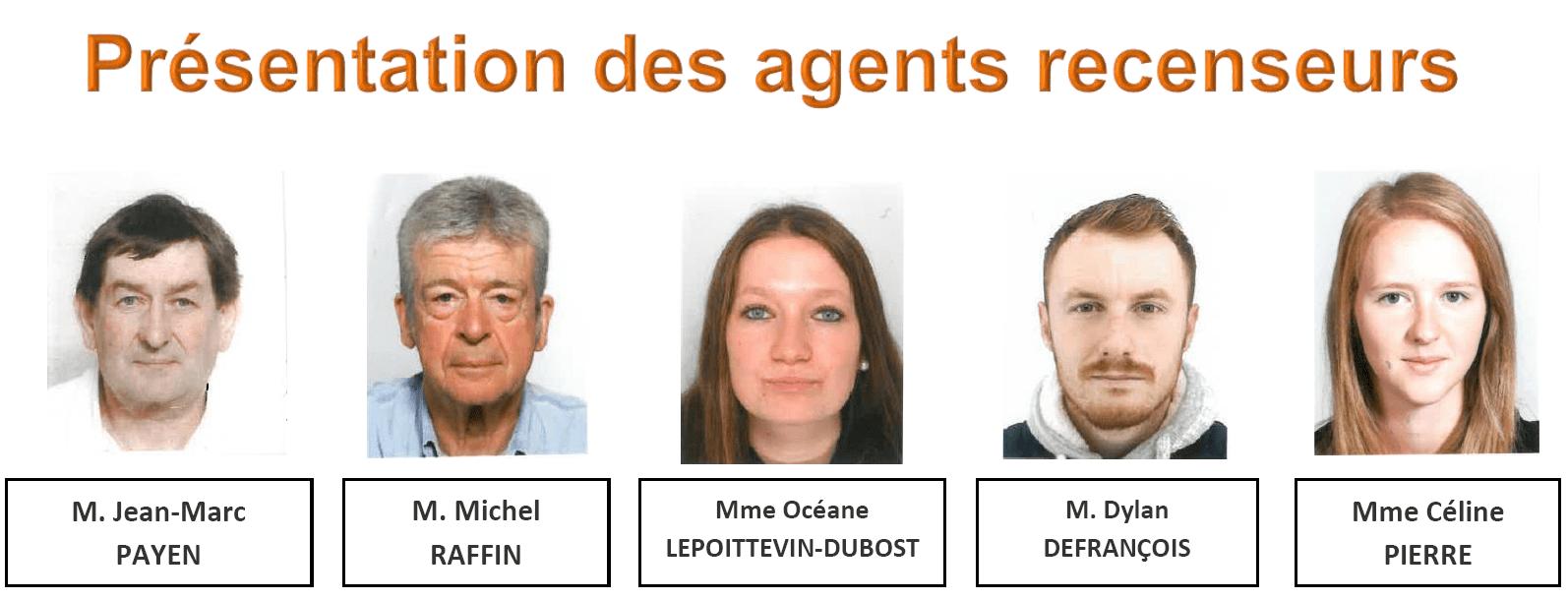 agents recenseurs 2019