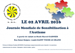 journée mondiale de l'autisme 2016