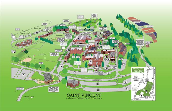 Saint Vincent Map