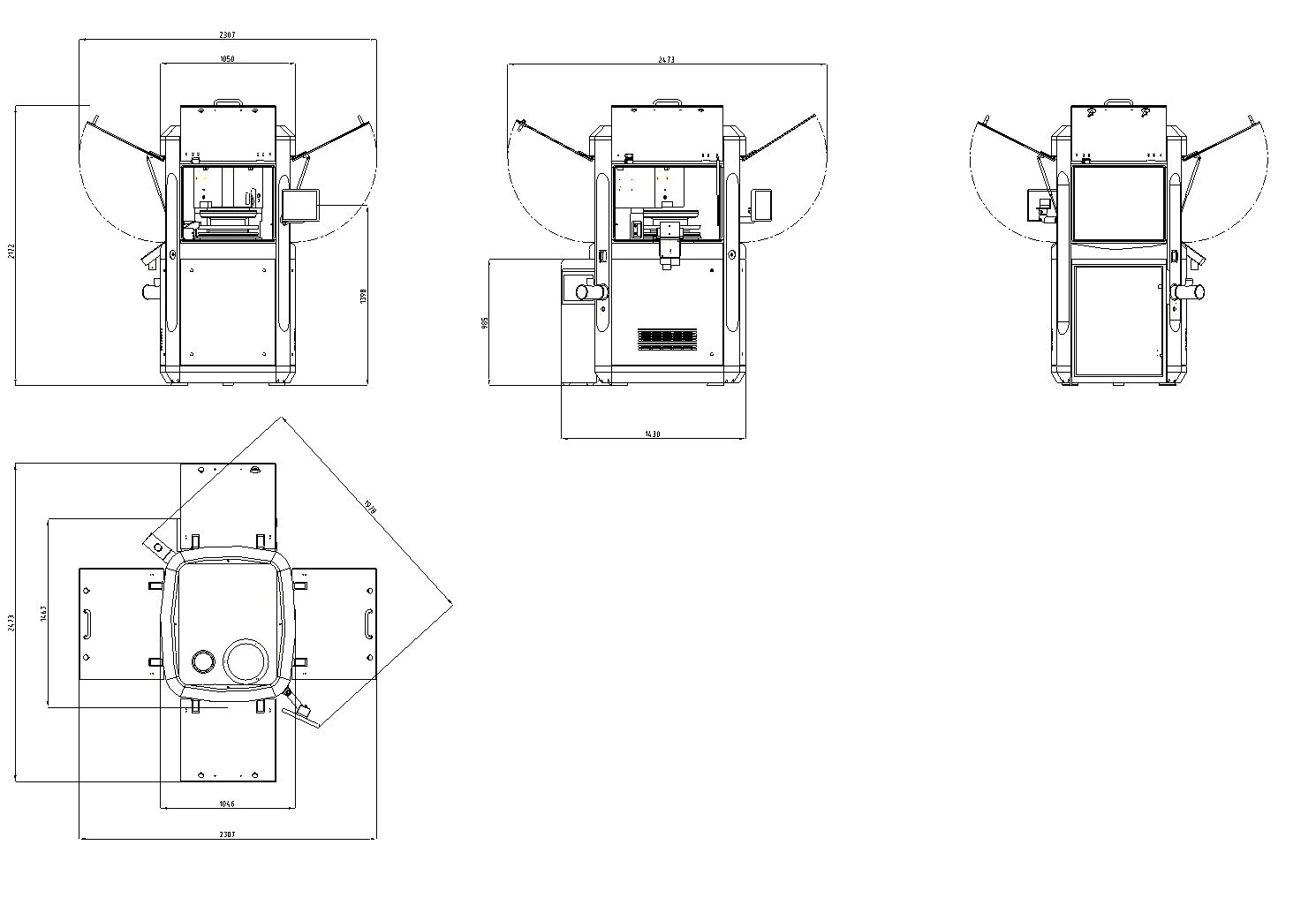 hight resolution of the working principle of a rotary tablet press machine saintytecsmart s tablet press dimensions