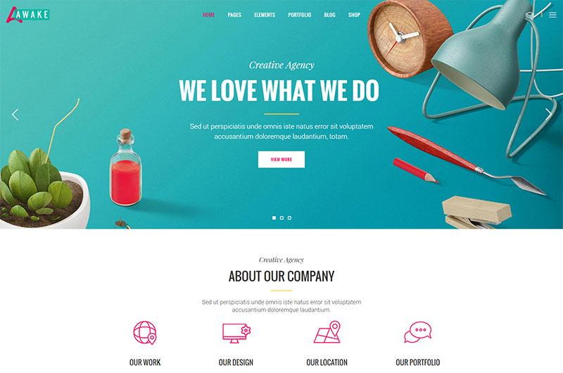 Creative Agency Home