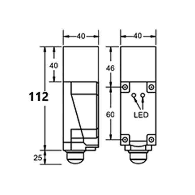 Inductive Proximity Switches, AC Block, Manufacturer, India