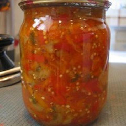 рецепт салат кузя из кабачков на зиму