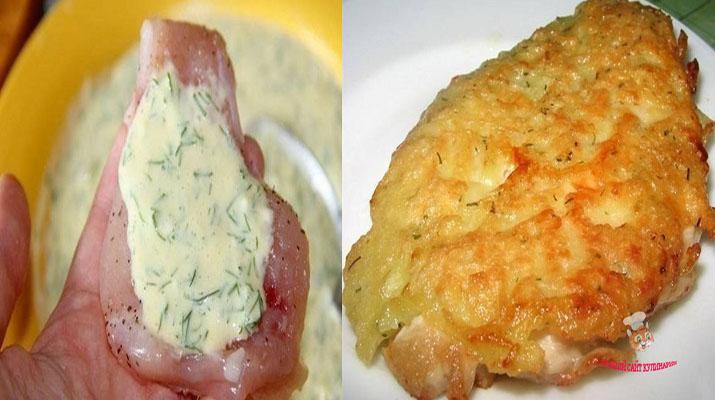 Отбивные из курицы с сыром - готовлю их почти каждый день. Не надоедают никогда!