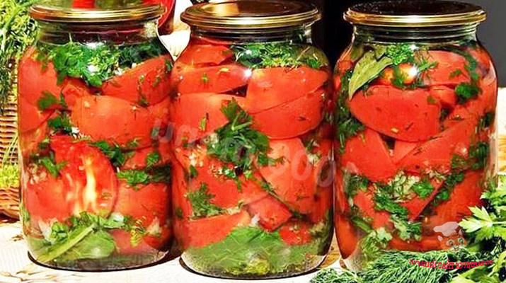 pomidory-dolkami-s-chesnokom