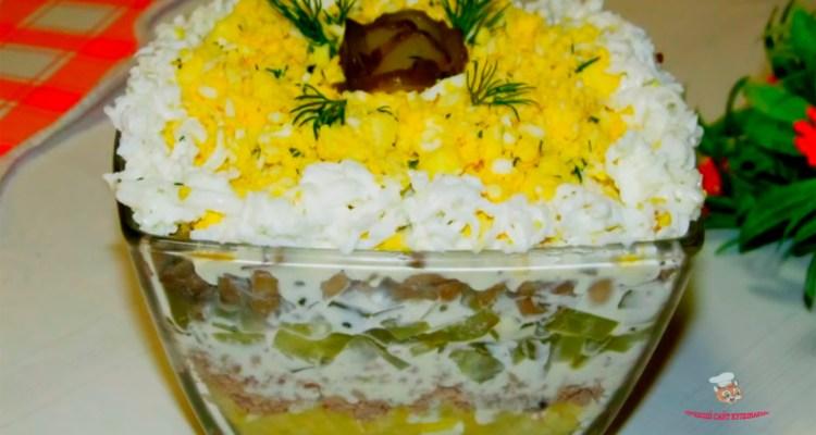 salat-s-gribami-na-prazdnikп