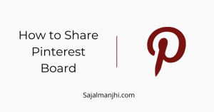 How to Share Pinterest Board
