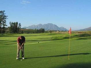 World class golfing destination
