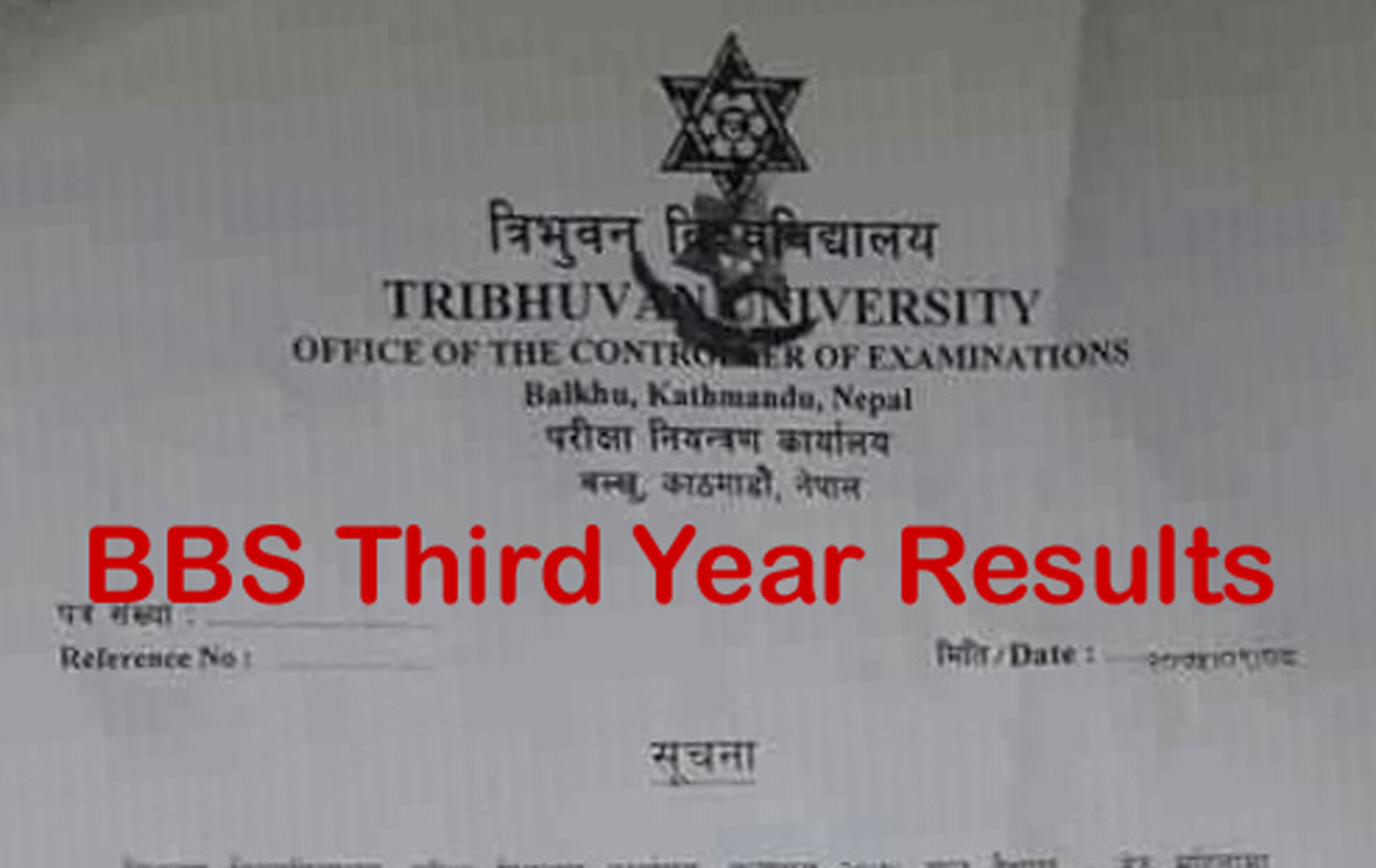 bbs 3rd year result