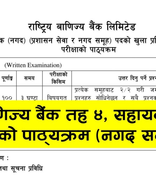 Rastriya banijya bank exam syllabus, Rastriya banijya bank, exam syllabus, Rastriya banijya bank syllabus, Rastriya banijya bank exam syllabus Level 4, Rastriya banijya bank Level 4, exam syllabus Level 4, Rastriya banijya bank syllabus Level 4, Syllabus Open Level 4 Admin, RBB exam Syllabus, RBB exam Syllabus 2075, RBB exam Syllabus 2076, RBB exam Syllabus Level, RBB Syllabus Level, RBB Syllabus Level 2075, RBB Syllabus Level 2076, rbb.com.np exam syllabus, rbb.com.np syllabus, rbb.com.np exam syllabus 2075, rbb.com.np syllabus 2076, RBB Syllabus, RBB exam Syllabus Level 4, RBB Syllabus Level 4, राष्ट्रिय बाणिज्य बैंक,