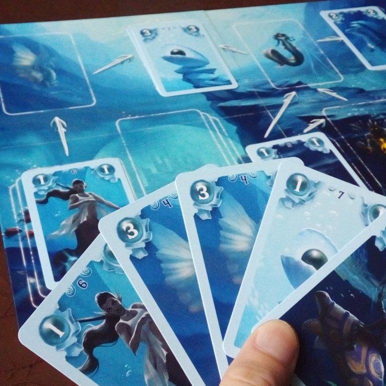 Matériel du jeu Opale de Runes Editions