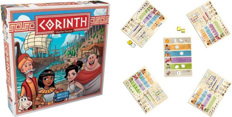 Le jeu de société Corinth édité par Days of Wonder