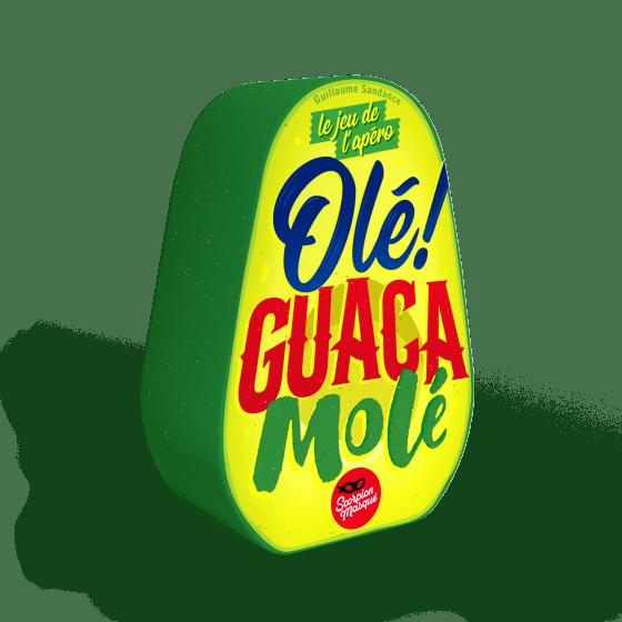 Olé Guacamole, le nouveau jeu d'ambiance frénétique du Scorpion Masqué