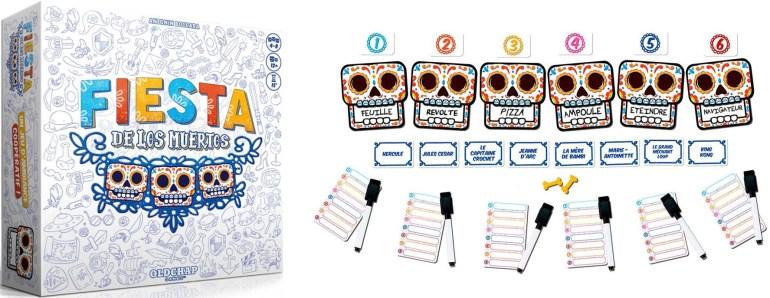 Le jeu Fiesta de Los Muertos édité par Oldchap