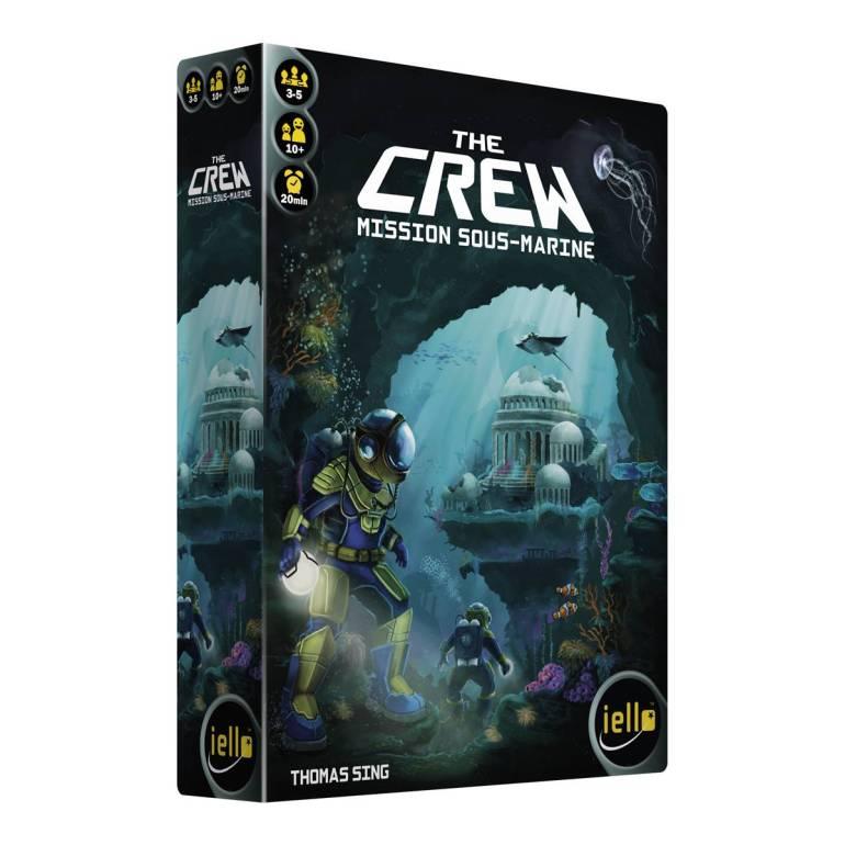 The Crew 2 Mission sous-marine, un jeu  édité par Iello