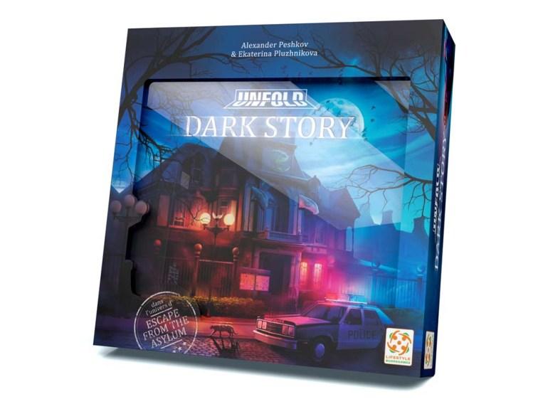 Le jeu Unfold Dark Story. Une escape game éditée par Lifestyle Boardgames.
