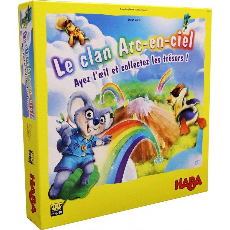 Le jeu de société Le Clan Arc-en-Ciel édité par Haba