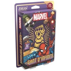 Le jeu de société Le Gant d'Infidélité dans l'univers Love Letter sur un thème Marvel