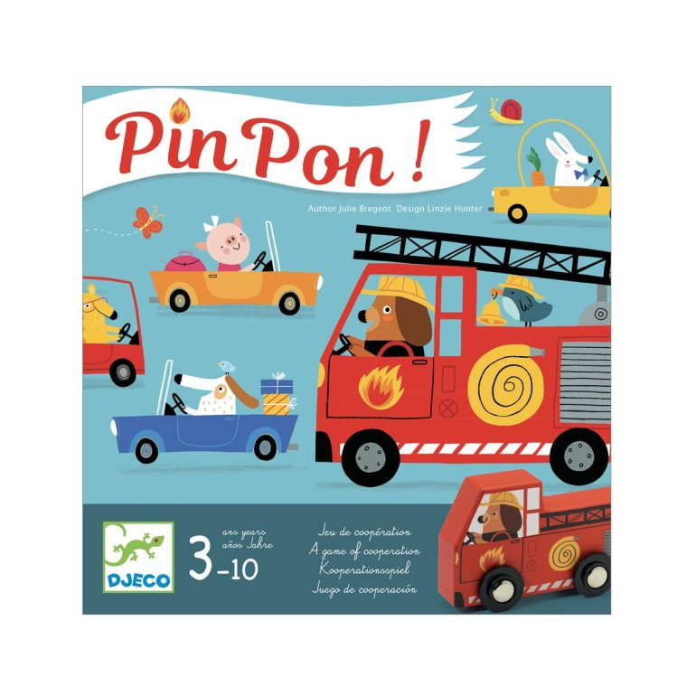 Le jeu de société PinPon édité par Djeco