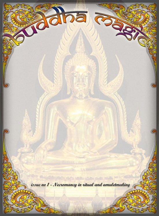 buddha magic e-mag - issue 1 cover art