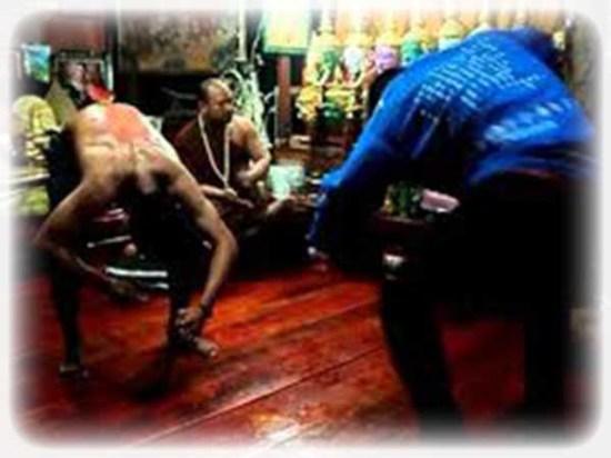 Khong Khuen during a Wai Kroo