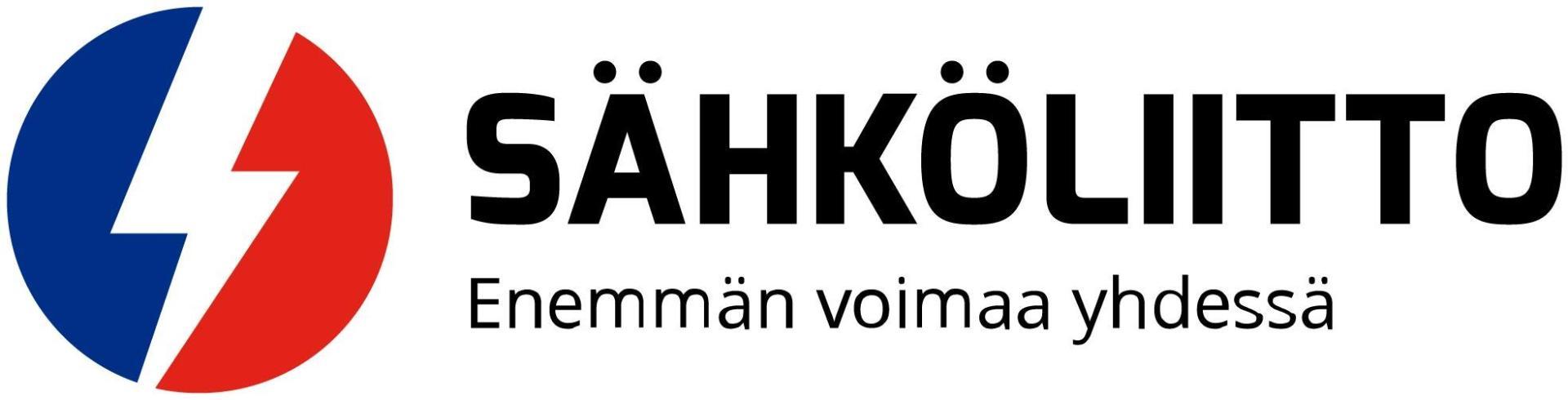 Sähköliiton logo ja slogan