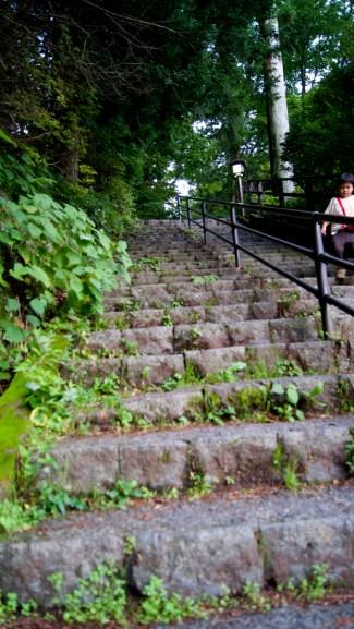 階段の先が・・・