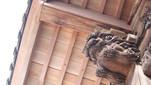 深大寺の狛犬嫁