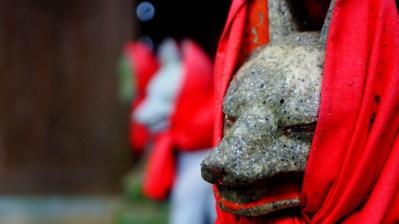 息栖神社の末社の稲荷
