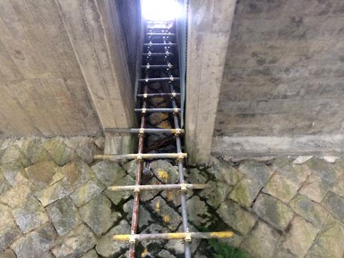 140706木曽川謎のはしご