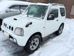 141216ジムニー雪景色
