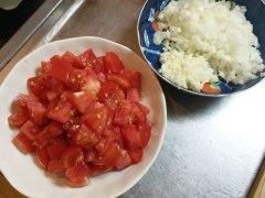 150813海老とトマトのパスタ01