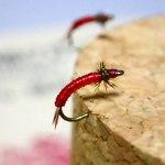 赤いヤツは通常の3倍釣れる!?|赤虫フライ