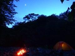 160610横川川夜のキャンプ02