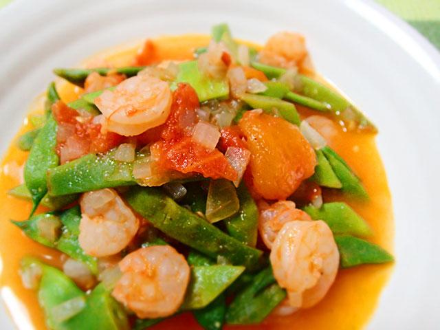160719ササゲと海老のトマト煮18