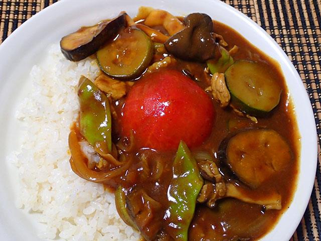 160727夏野菜カレー15