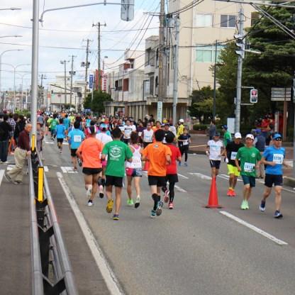 20191020酒田つや姫ハーフマラソン大会