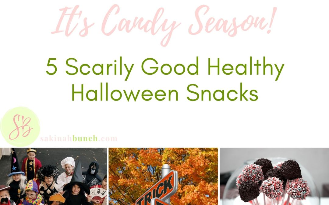 5 Scarily Good Healthy Halloween Snacks