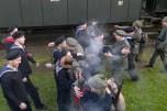 Infanteristen schließen sich dem Matrosenaufstand an