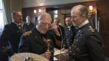 Kiels Gouverneur Wilhelm Souchon telefoniert mit Berlin