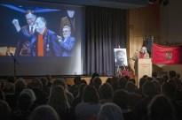 Eröffnung durch Bezirksbürgermeister Rainer-Jörg Grube
