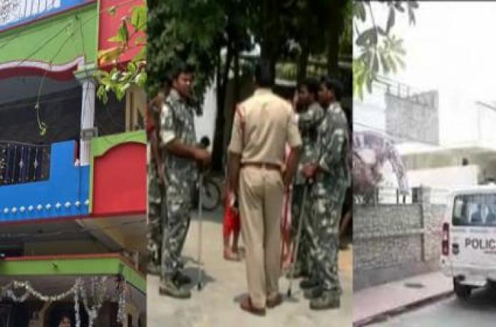 Image result for ప్రణయ్, మారుతీరావు నివాసాల వద్ద భారీ బందోబస్తు