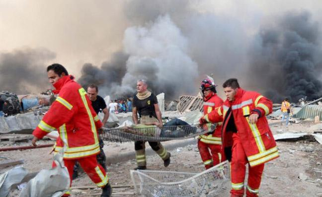 Beirut Reels From Huge Blast - Sakshi